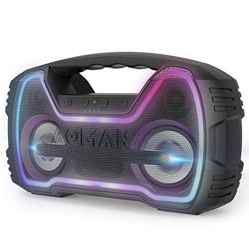 Aomais Go Mini Bluetooth Speakers Portable Outdoor Wireless Stereo Pairing Speaker 25w Hi Q Bluetooth Speakers Cool Bluetooth Speakers Mini Bluetooth Speaker