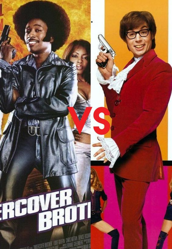 Yo What If Undercover Brother Vs Austin Powers Undercover Brother Marvel Vs Dc Marvel Vs