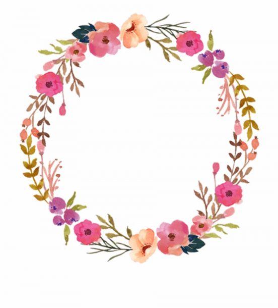10 Floral Wreath Png Png Image Icon Asset Com Floral Wreath Watercolor Wreath Watercolor Floral Wreaths Illustration