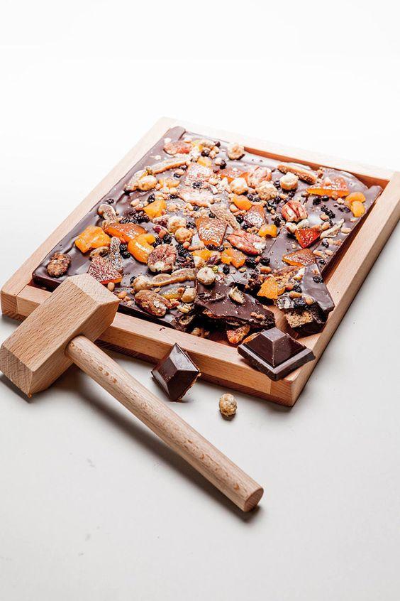 Le Bloc de Noël à partager - Le Chocolat - Alain Ducasse