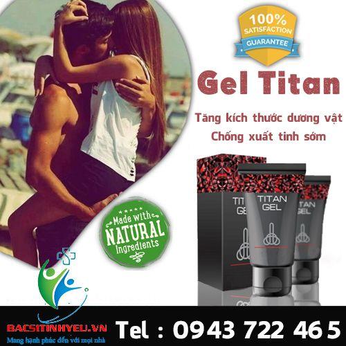 """Hiệu quả của gel titan đã được đại học """"charite"""" (berlin) chứng nhận trong các nghiên cứu có sự tham gia của 447 người ở độ tuổi từ 25 đến 65 có vấn đề cương dương. Hơn 96% nam giới đã từng sử dụng gel titan, có thể phục hồi được đời sống tình dục ổn định."""