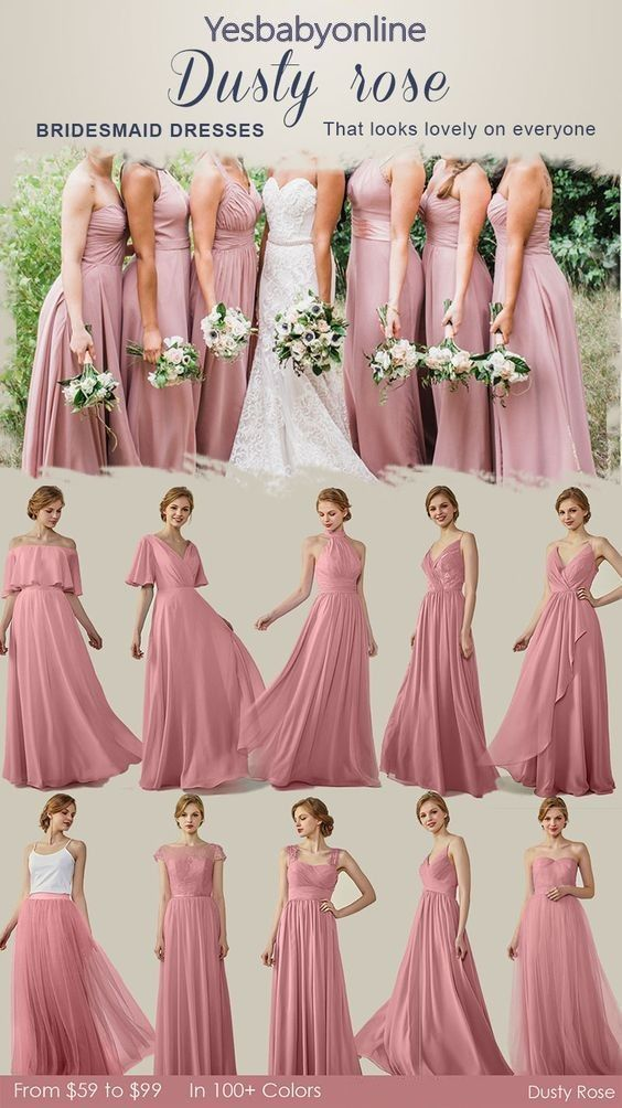 Chiffon Bridesmaid Dresses Cheap Bridesmaid Dresses Long Bridesmaid Dresses Simple Bridesmaid Dresses Yesbabyonline Bridesmaiddresses Over Are The Occa In 2020