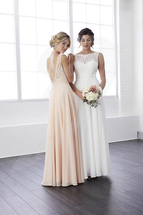 Bridesmaid Dresses Jacquelin Bridals Canada 25561 Lace Chiffon Bridesmaid Dress Bridesmaid Dress Styles Bridesmaid Dresses London