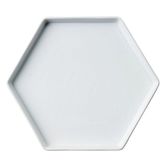 #hexagon #hexagonplate #porclain #sinnerup #sinnerupb2b