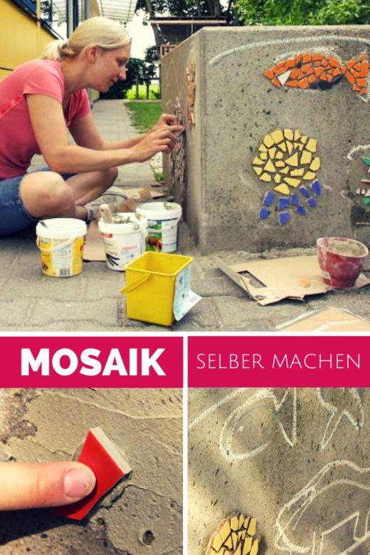 mosaik selber machen zum einpflanzen stecklinge | garten, Gartenarbeit ideen