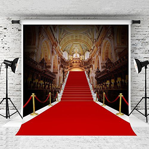 Kate 10 X 10ft Red Carpet Backdrop Palace Style Stage Pho Https Www Amazon Com Dp B075l32q3j R Red Carpet Backdrop Background For Photography Photo Studio
