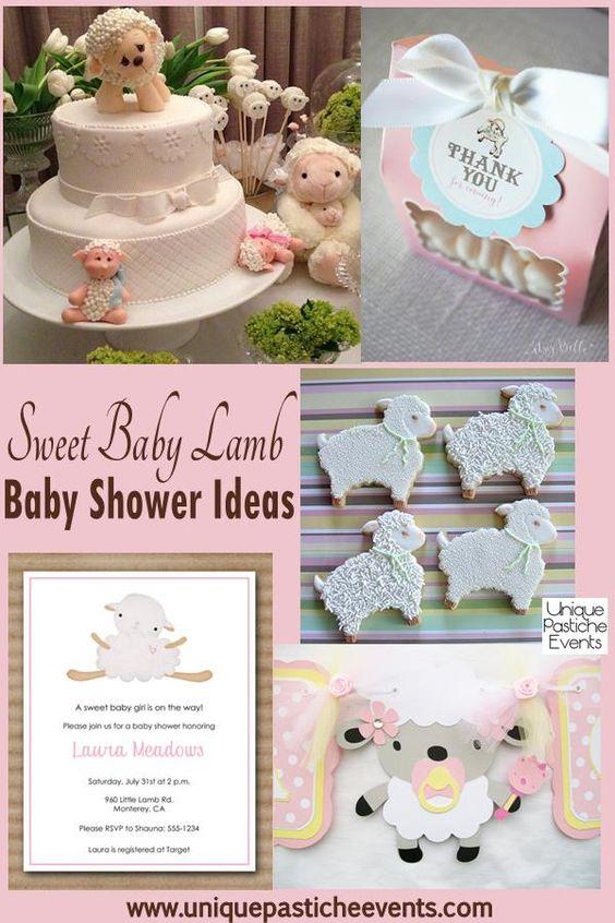 lamb baby showers showers baby showers shower ideas lamb baby showers