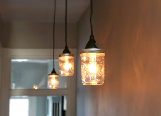 how to make a lighting fixture out of mason jars a lighting