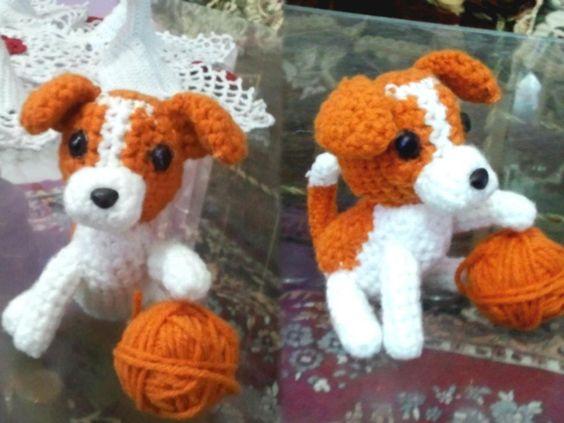 Crochet Pattern Jack Russell Dog
