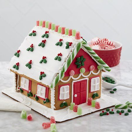 Gingerbread House Ready To Decorate  from i.pinimg.com