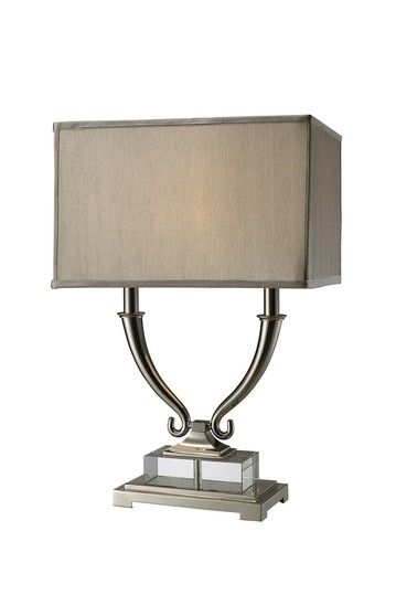 Roberts Two Light Table Lamp by Distressed Downtown Style on @HauteLook