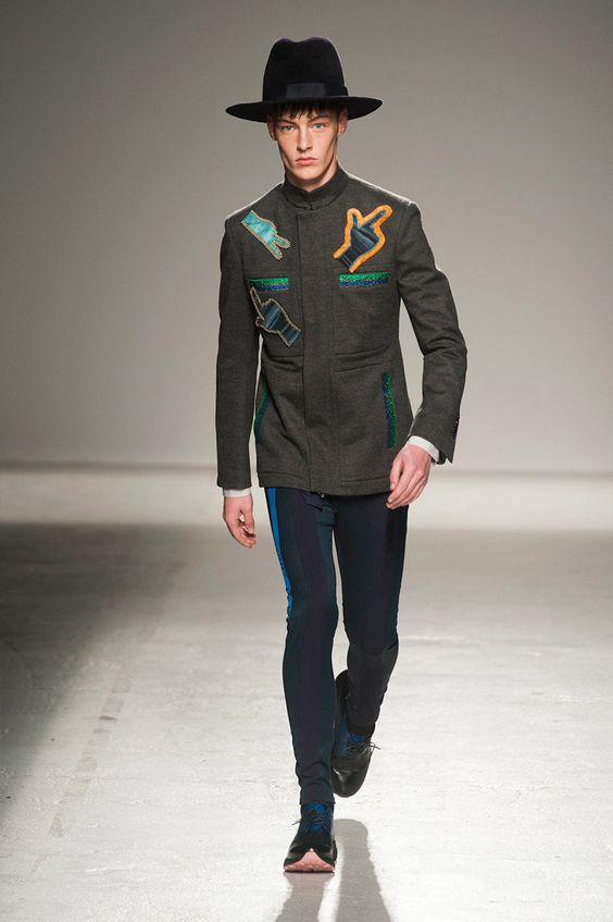 #Menswear #Trends JOHN GALLIANO Fall Winter 2014 Otoño Invierno #Tendencias #Moda Hombre