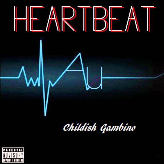 Childish Gambino – Heartbeat (single cover art)