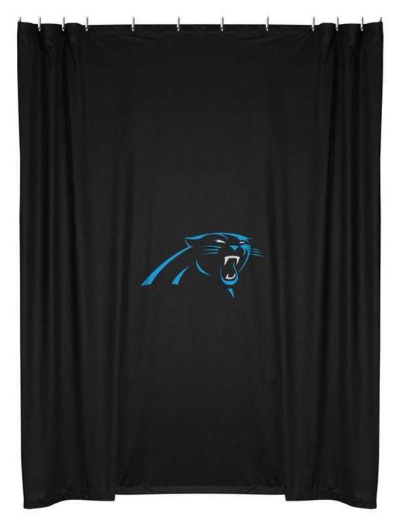 carolina-panthers-shower-curtain   Carolina Panthers   Pinterest ...