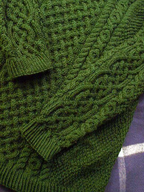Moss Stitch Jumper Knitting Pattern : Ravelry: Double moss stitch sweater pattern by Harmony Class hand knitted ...