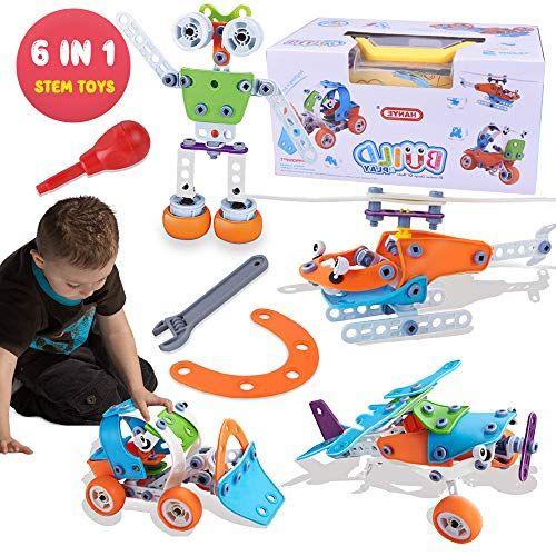 Kupet 148 Stucke Bausteine Spielzeug Kreatives Gebaude Lernen Padagogische Bausteine Spielzeug Fur 5 Jahre Und Alter Kinder Jung In 2020 Altestes Kind Spielzeug Lernen