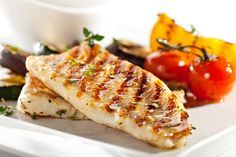 Succulent Grilled Walleye