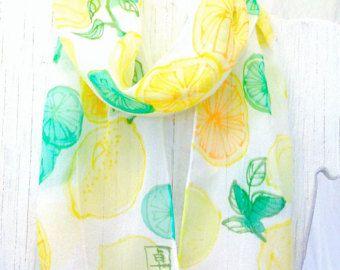 Silk Scarf Handpainted Gift for her Silk by SilkScarvesTakuyo