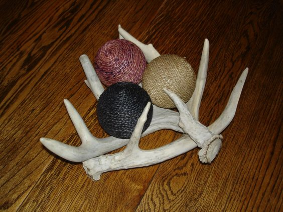 we're going to have to come with some antler uses.......yarn holder?