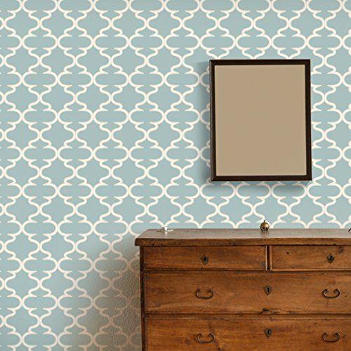 RoyalWallSkins Moroccan Rabat 03 Peel & Stick Repositionable Fabric Wallpaper (1)