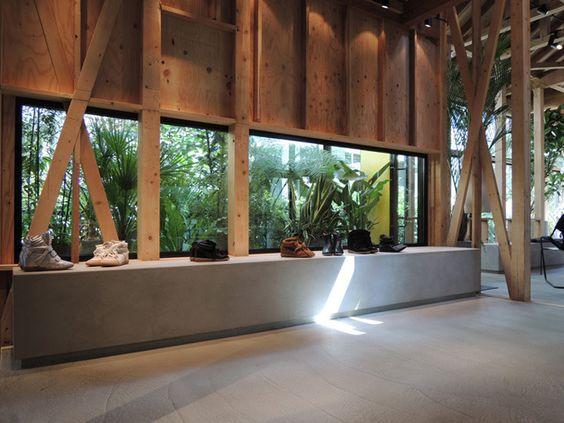 Interior/Exhibition/VMD :: Isabel Marant flagship store by Ciguë, Tokyo