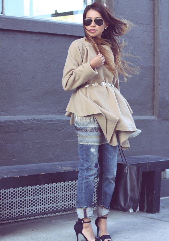 I love the layering here