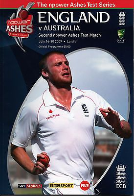 Cricket #programme #england v australia at lords #16-20th july 2009 + used ticket,  View more on the LINK: 	http://www.zeppy.io/product/gb/2/301822639232/