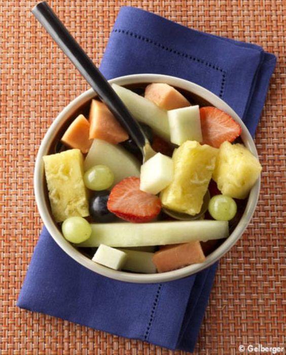 Salade de fruits tropicaux pour 4 personnes - Recettes Elle à Table