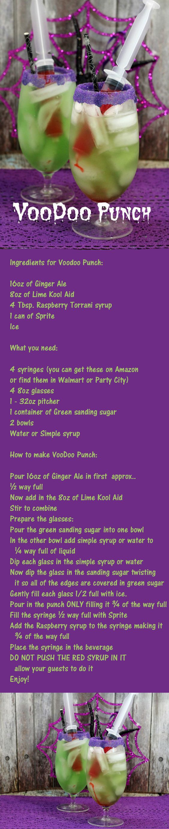VooDoo Punch, Perfect Halloween Party Drink | Punch, Bal masqué et ...