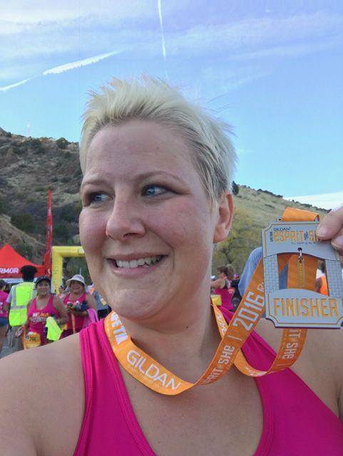 Race Recap: Esprit de She Red Rocks - Getting Fit to Find Myself