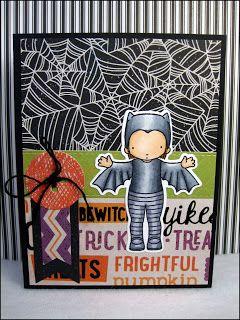 Mason Jar Cards : Halloween 8c