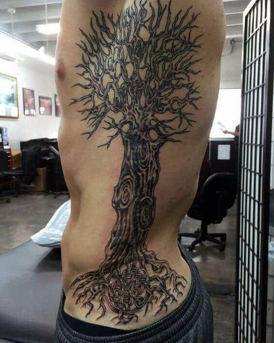 Side Tattoos For Men Mens Side Tattoos Tree Of Life Tattoo Life Tattoos