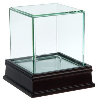 Glass Mirrored Baseball Case Glass Mirror Display Case