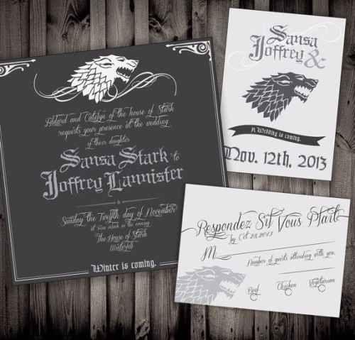 Frase De Matrimonio Juego De Tronos.Invitaciones De Boda Juego De Tronos 1 Invitaciones De Boda