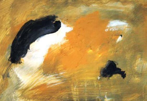 Eugene Brands - Victorious light.  40,5x67,5 cm, gouache, 1998.  Source: www.galeriedomarte.nl. Artist: www.eugenebrands.nl