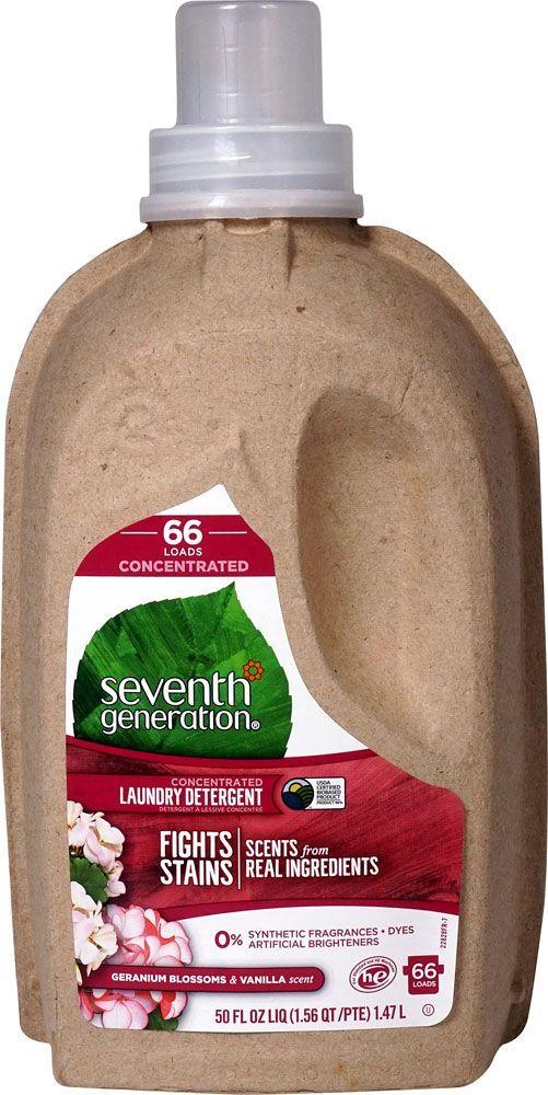 Seventh Generation Laundry Detergent Concentrated Geranium