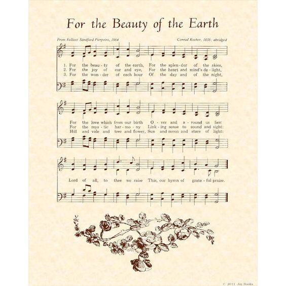 Lord of all, to Thee we raise, this our hymn of grateful praise.
