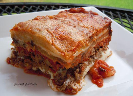 Gourmet Girl Cooks: Eggplant Lasagna & Heirloom Caprese Salad