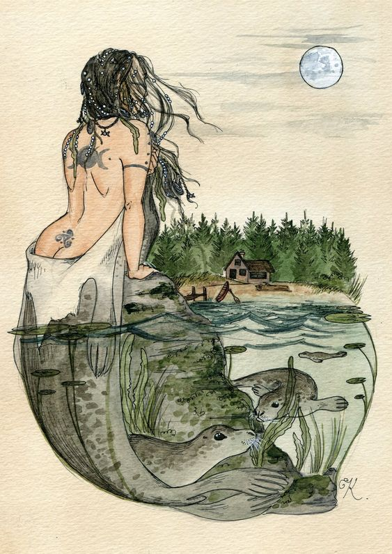 kittythegrimm: The Selkie by Kitty-Grimm