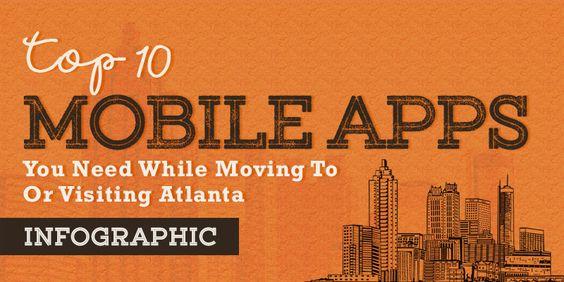 Top 10 Mobile Apps - Atlanta on Behance