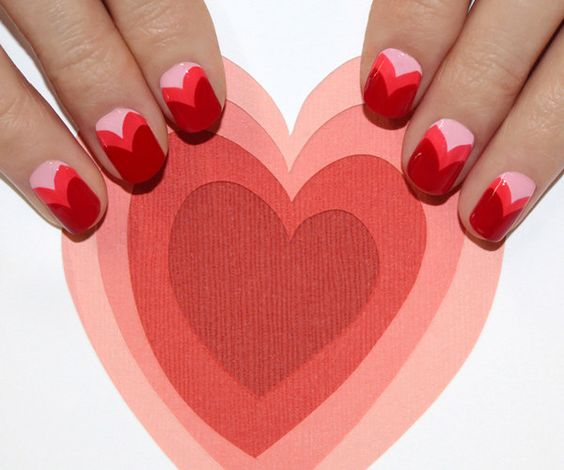 Sweetheart nails | 24 Ways To Get Your Nails Ready For The Spring