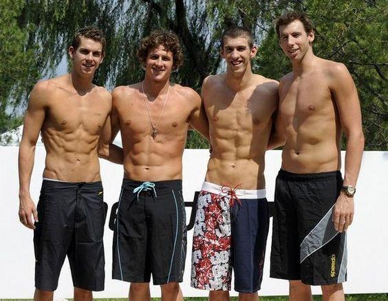 US Olympic Swim Team. Yes Please.