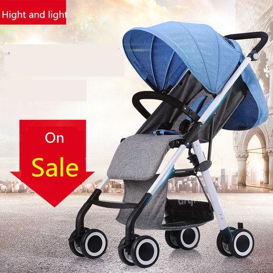 $132.90 (Buy here: http://appdeal.ru/ff6z ) Aiqi baby stroller ...