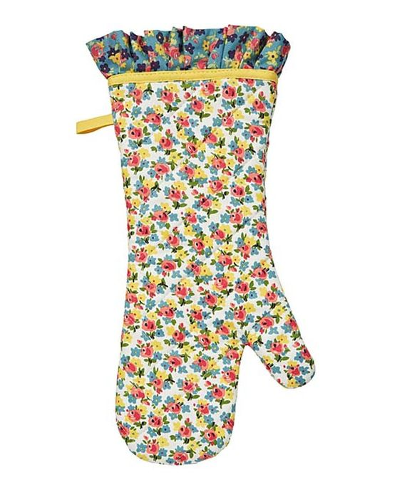 Another great find on #zulily! Ellen Floral Oven Mitt by Ulster Weavers #zulilyfinds