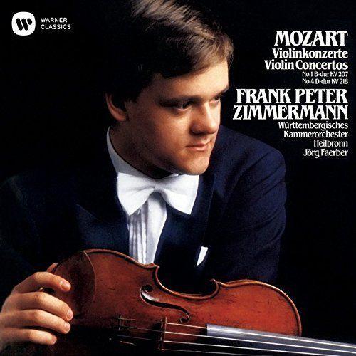 Frank Peter Zimmermann - Mozart: Violin Concertos Nos. 1 & 4