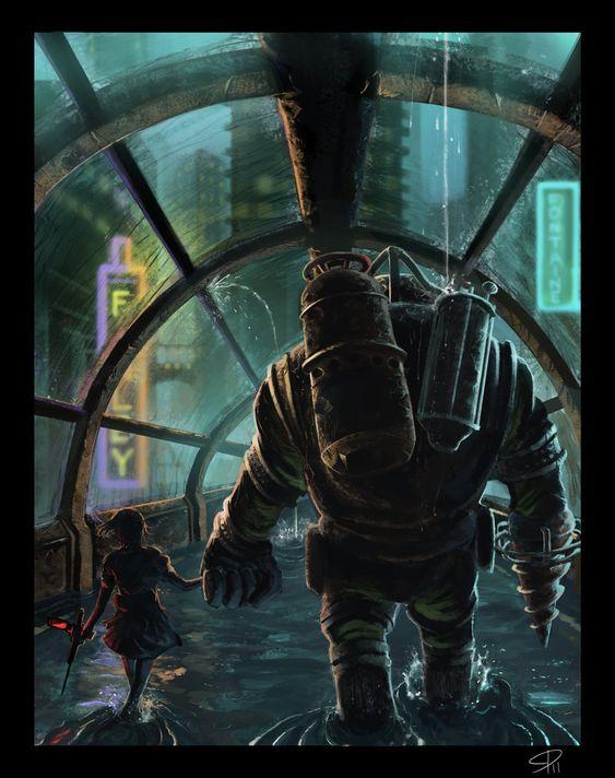 A Bond Deeper Than The Ocean. Bioshock 2 my favorite game!!