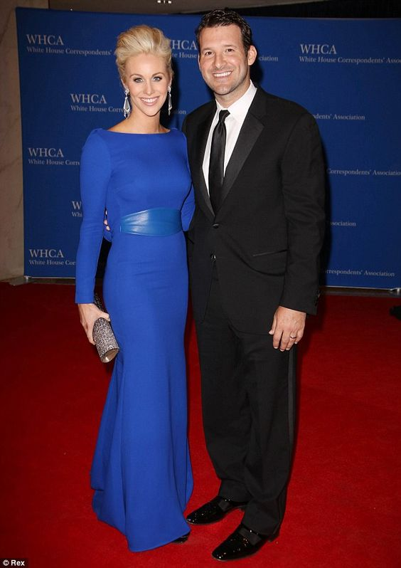 Tony Romo and Candice Crawford. Looking gorgeous.