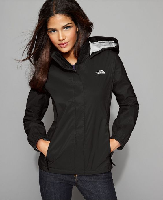 The North Face Jacket, Resolve Lightweight Zip Up Rain Jacket ...