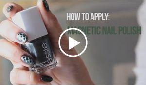 Want a new way to paint your nails? Check out this newest trend on Rite Aid's #NailExtravaganza site: Essie How To: Repstyle Magnetic Nail Polish