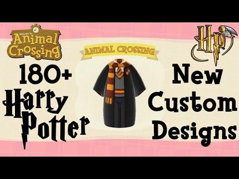 180 Harry Potter Animal Crossing New Horizons Custom Designs Creator Codes Acqr Animal Crossing Animal Crossing Qr Qr Codes Animal Crossing